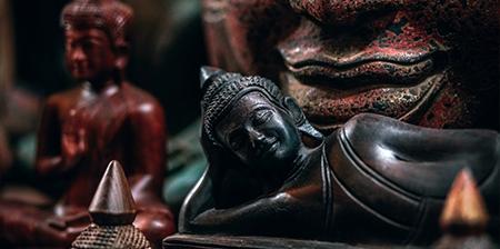 Objets de Décoration Bouddhiste