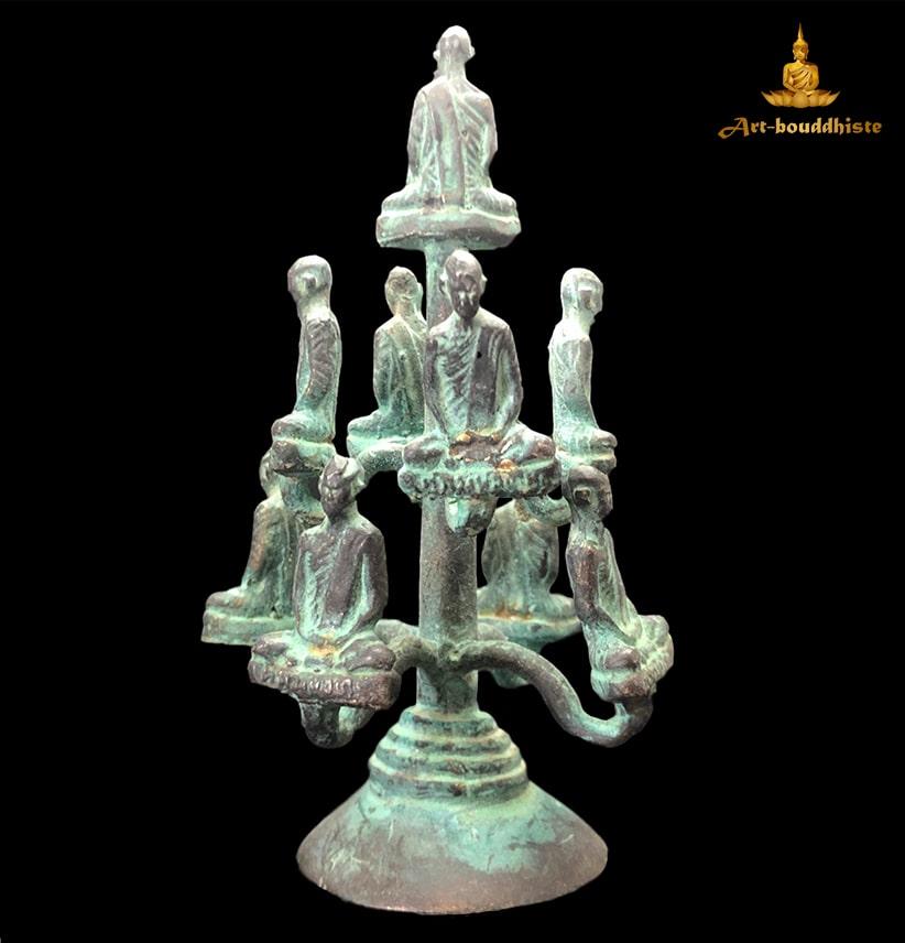 Amulette De Bouddha, Culte Luang Phor Derm Partie Arrière