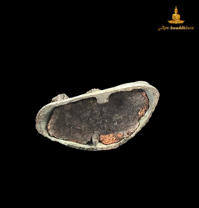 Bouddha En Bronze Culte De Sukhothai Du Dessous