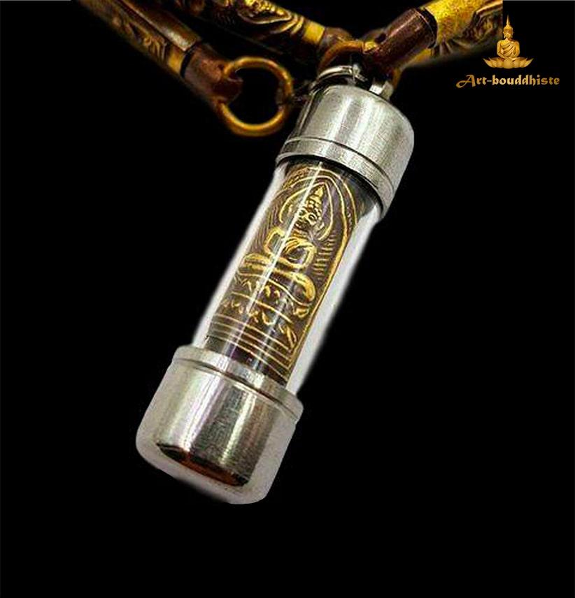 Collier De Protection Takrud Lp Suk Pendentif