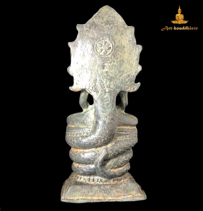 Statuette De Bouddha De Phra That Na Dun De Dos