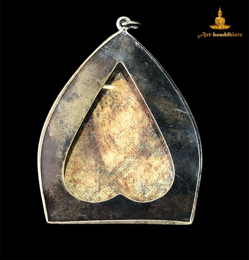 Amulette de Vishnu tenant une arme face arrière