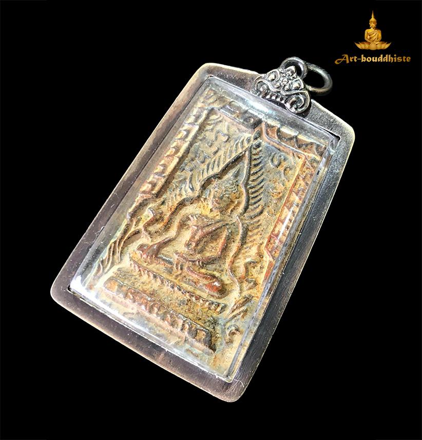 Amulette de Bouddha Amulette Phra Si Rattana Mahathat