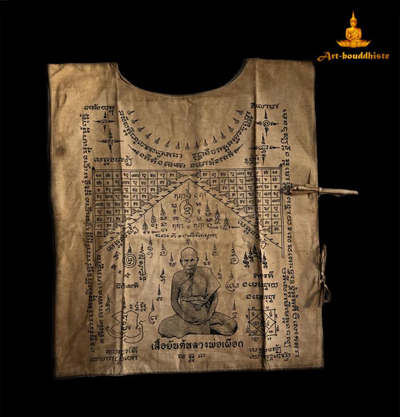vêtement bouddhiste face avant
