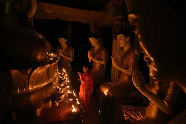 Religion Bouddhique Dans La Société