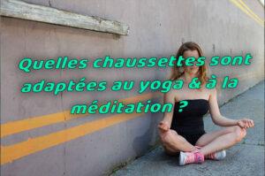chaussette yoga méditation