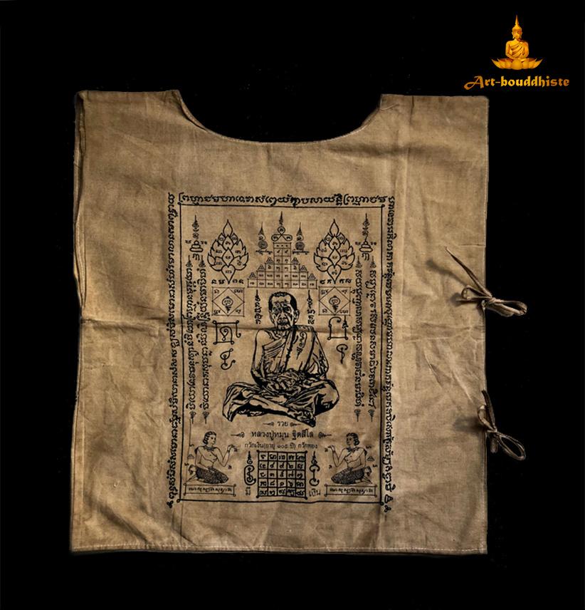 vêtement de moine bouddhiste face avant