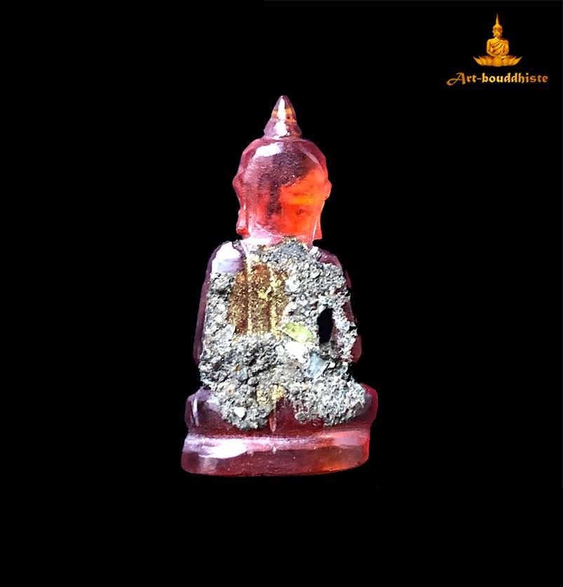 amulette de bouddha en pierre taillé