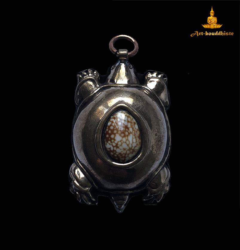 amulette tortue bouddhiste
