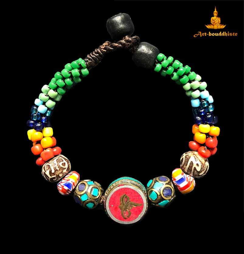 bracelet bouddhiste 14 verso