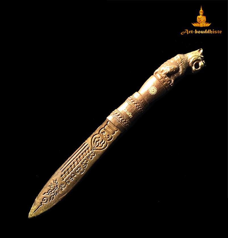 couteau lancette bouddhiste