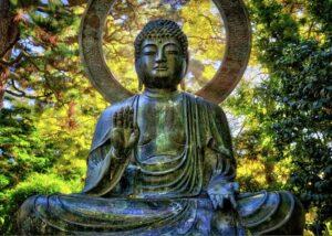les statues de bouddha